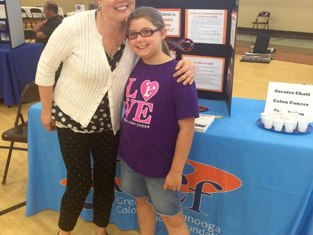GCCCF Helps @ Hixson Health Fair