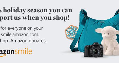 You shop. Amazon donates.