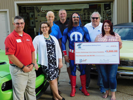 SE MoPar Event Supports GCCCF