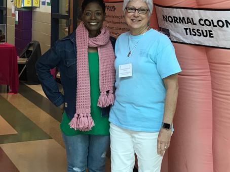 Spreading Colon Cancer Awareness at OKES Community Health Fair