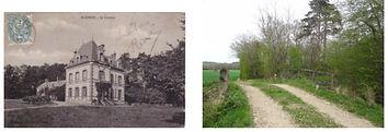 Le Coudray et pont du crot à l'âne