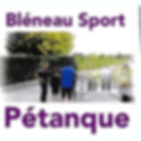 Bléneau Sport Pétanque