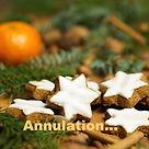 Annulation du marché de Noël