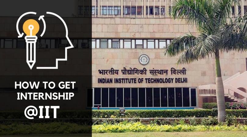 Internship at IIT