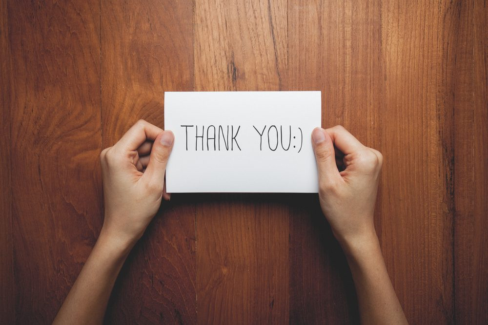 Importance of Writing A Thank You Note After An Interview