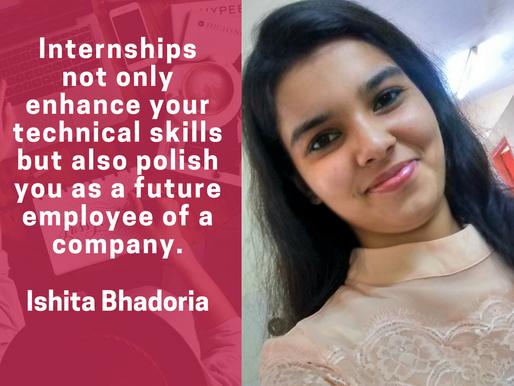 Intern Insights with Ishita Bhadoria