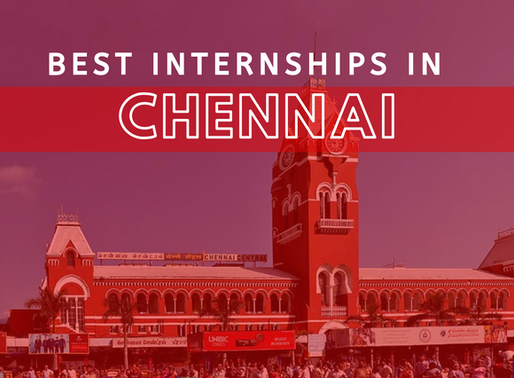 Top 10 Companies Offering The Best Internships in Chennai