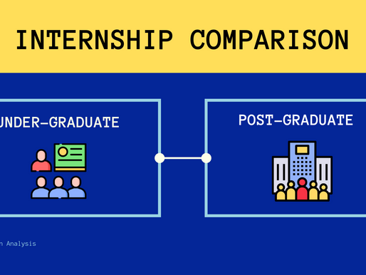 How Does Internships Differ For Undergraduates and Postgraduates