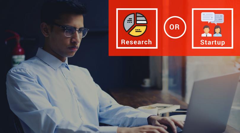 Internship Comparison: Research or Startup