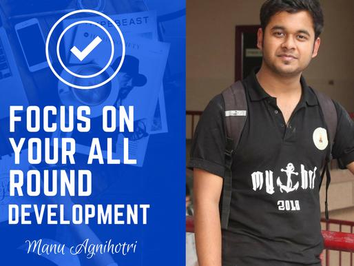 Intern Insights with Manu Agnihotri, JSSATE student