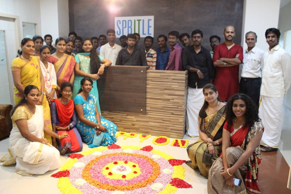 Internship at Spritle chennai