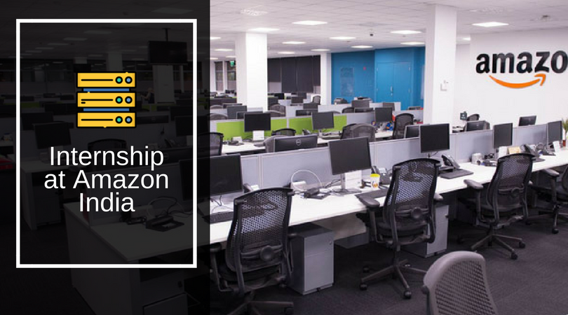 Internship at Amazon India