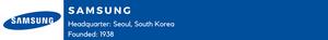 Samsung (Analog and Digital Electronics, Communications)