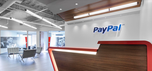 Paypal Office Reception