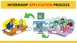 Illustration of How Internship Application Process Works