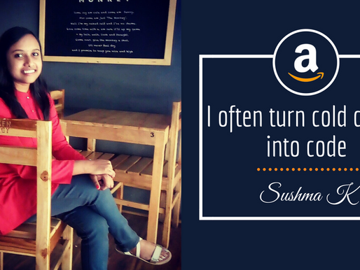 Intern Insights From Sushma K - Internship at Amazon
