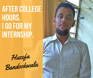 Huzefa Bandookwala, Third Year Computer Science Engineering Student