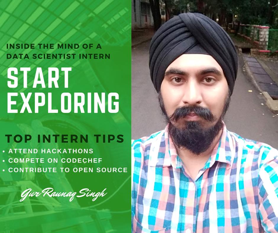 Intern Insights with Gur Raunaq Singh, GTBIT student