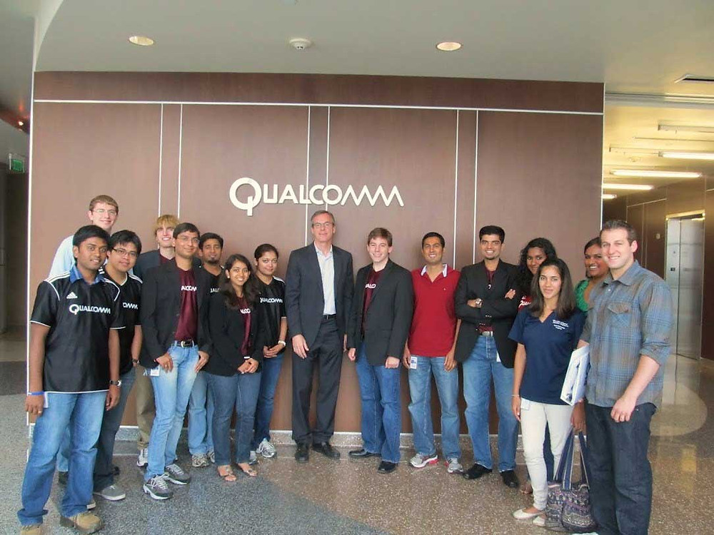 Interns at Qualcomm