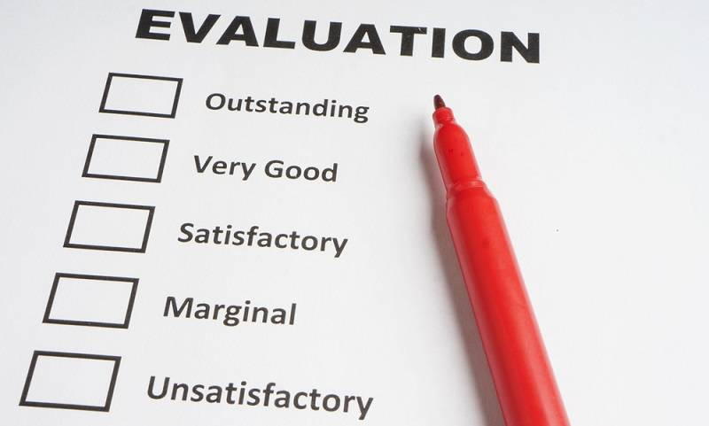 Intern Evaluation after completing internship