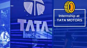 Internship at TATA Motors