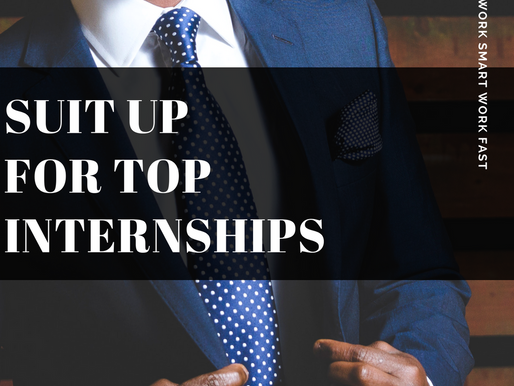 Top Three Internships of the Week