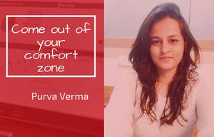 Purva Verma, SMVIT student - Internship at Explara