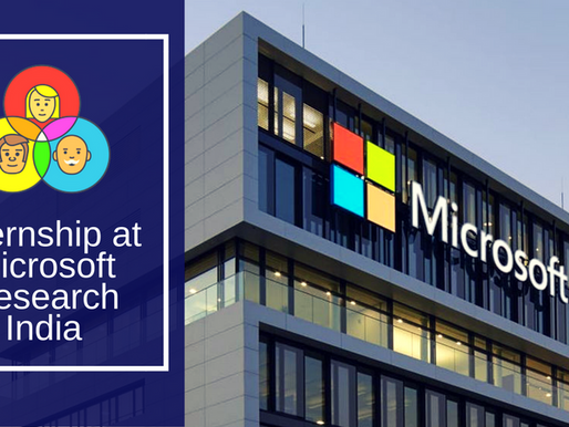 How to Apply for Internship at Microsoft Research India