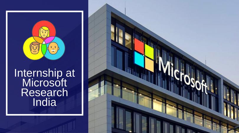 Internship at Microsoft Research India