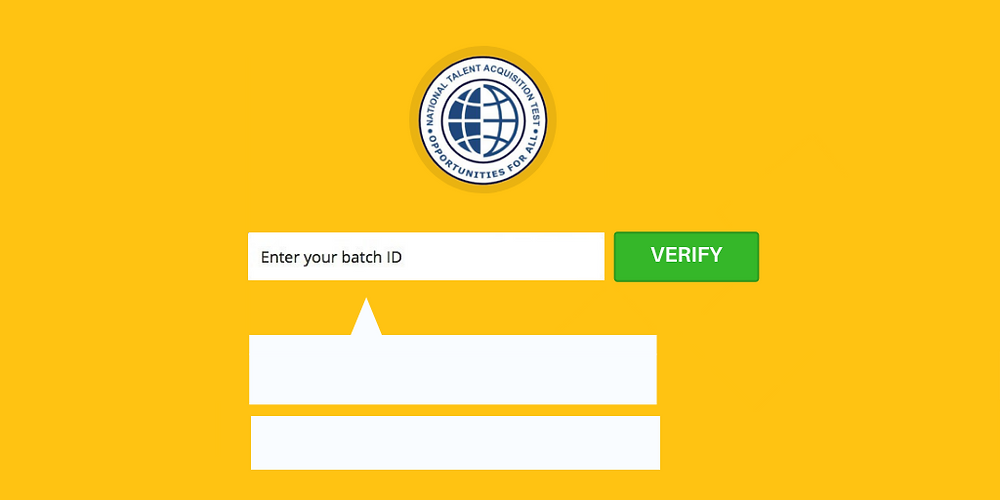 Verifying NTAT certification through NTAT website
