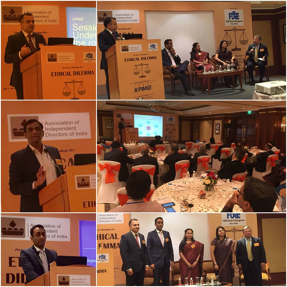 The AIDI-KPMG workshop organized in association with FORE School of Management and Employers' Federation of India