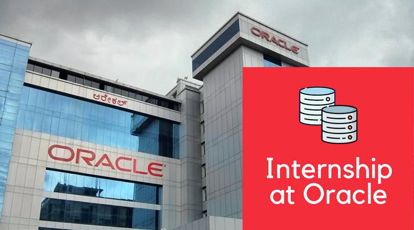Internship at Oracle