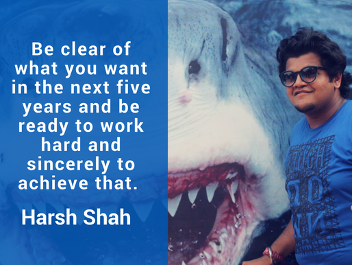 Intern Insights with Harsh Shah, IIT-KGP Student