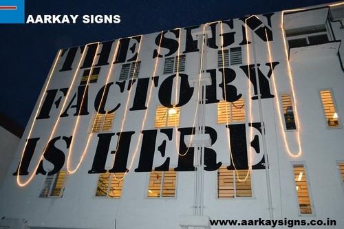 Internship at Aarkay Signs, Bangalore