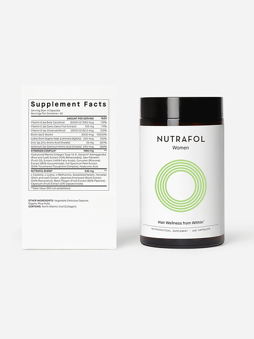 Nutrafol Hair Supplements