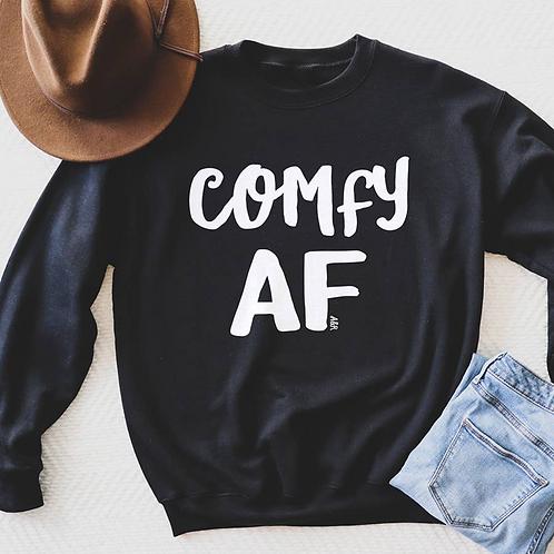 Comfy AF Crew Neck