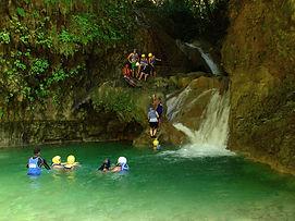 waterfall of damajagua