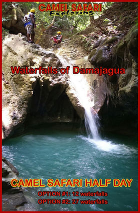 waterfalls of damajagua