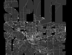 SPLIT SCREEN MAP