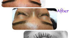 Eyelash Extensions with Kelly