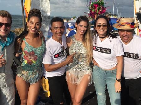 Talento de Telecaribe se gozó desfile del 11 de noviembre