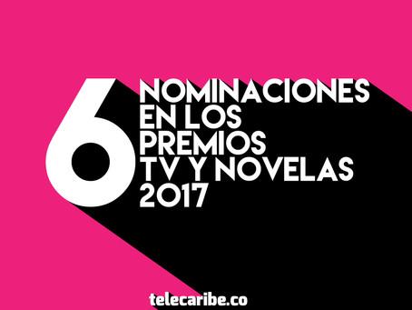 Telecaribe con 6 nominaciones a los TV y Novelas