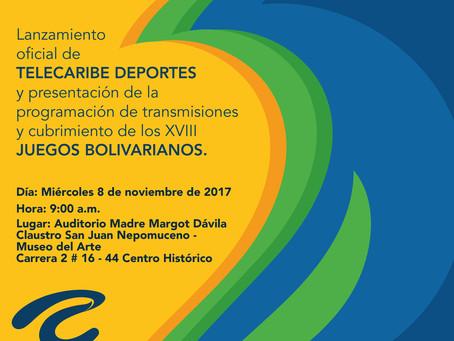 Mañana en Santa Marta, Telecaribe presenta su nuevo canal deportivo