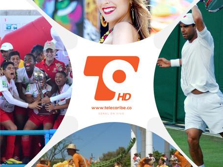 Fin de semana cultural y deportivo con transmisiones de Telecaribe