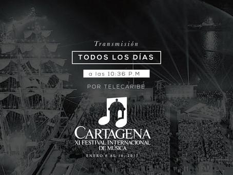 'Símbolo y Sonido', el Festival de Música de Cartagena por Telecaribe