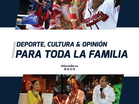 Deportes, cultura y opinión, programación para toda la familia