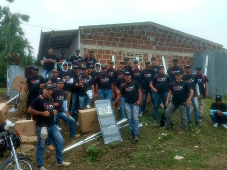5.678 kits TDT instaló Telecaribe en El Carmen de Bolívar