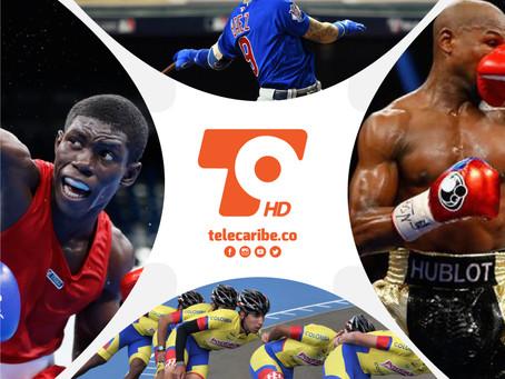 Los deportes reinan el fin de semana en Telecaribe