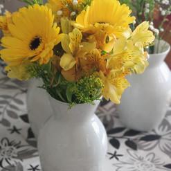 Arranjo Flores amarela
