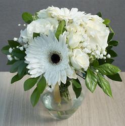 Arranjo flor branca